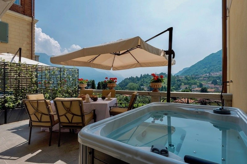 Apartment Bellagio with Jacuzzi