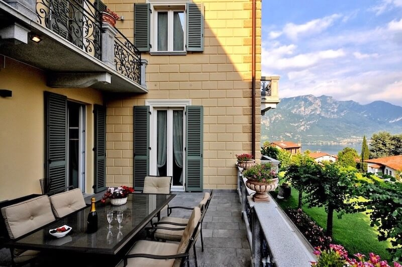 Apartment with terrace Bellagio Lake Como