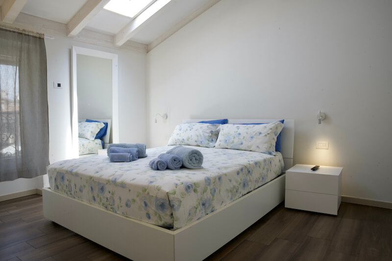 holiday apartment with double room