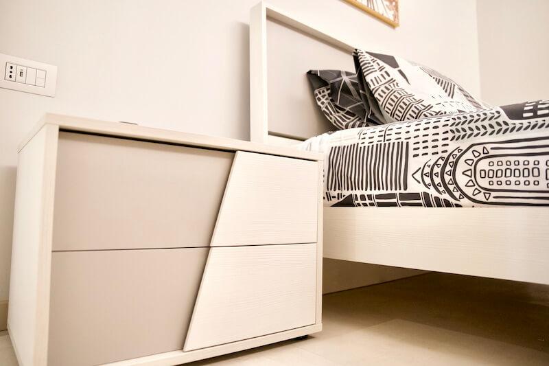 single bedroom of Villa Vitali