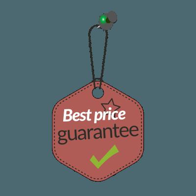 Best price guarantee label