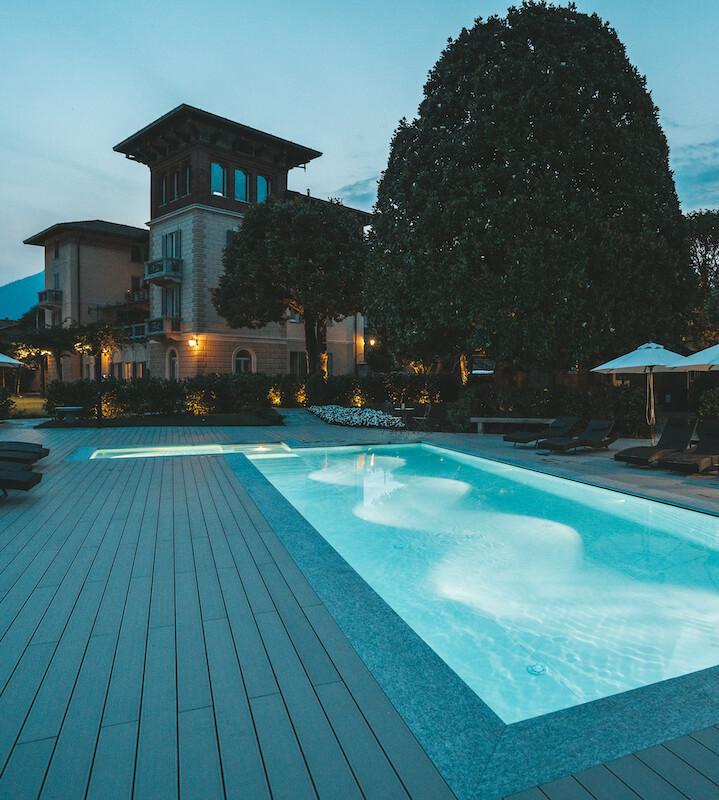 Villa Vitali outdoor with swimming-pool and solarium